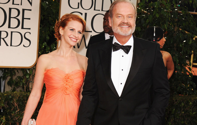 Kelsey Grammer's New Wife Debuts Baby Bump