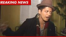 Bruno Mars' Cocaine Charge Dismissed -- FREE AT LAST!!!