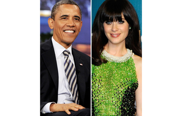 See President Obama's Birthday Message to Zooey Deschanel