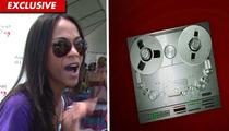 Zoe Saldana 911 Call -- Car Crash Rescue Mission