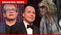 Elton John's Hubby Issues Non-Apology to Madonna