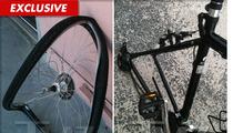 Gene Hackman -- Twisted Wreckage from Bloody Bike Crash