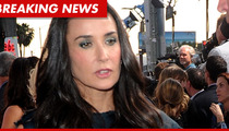 Demi Moore Drops Out of 'Lovelace'