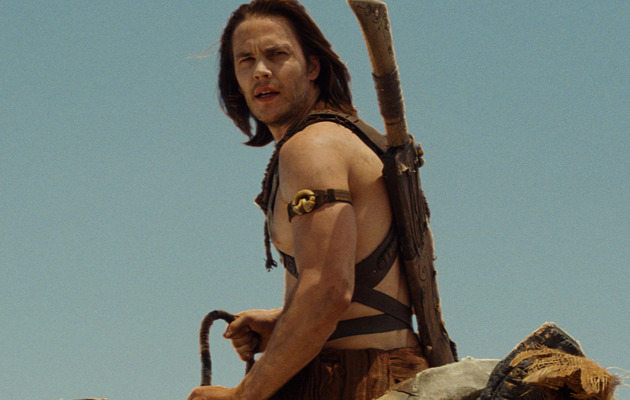 "Taylor Kitsch Talks Rigorous ""John Carter"" Workouts"