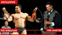 WWE Superstar David Otunga -- Slams Competition in Triumphant Return to His Lawyer Life