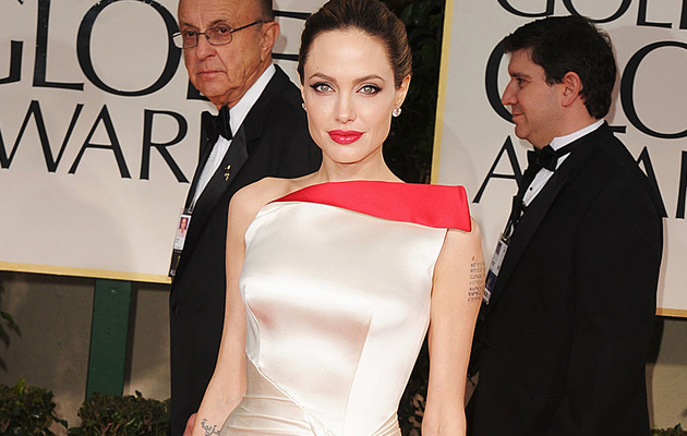 See Angelina Jolie's Early Modeling Shots