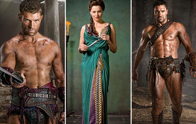 """Spartacus: Vengeance"" -- The Hot New Cast Photos"