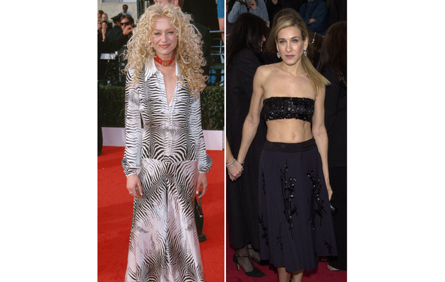 The Worst Dressed Stars of SAG Awards' Past