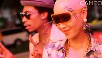 Amber Rose -- Is That a FACE TATTOO?!?