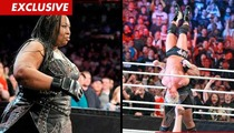 WWE Diva Kharma -- I Dropped a Few Pounds ... Out of My Uterus