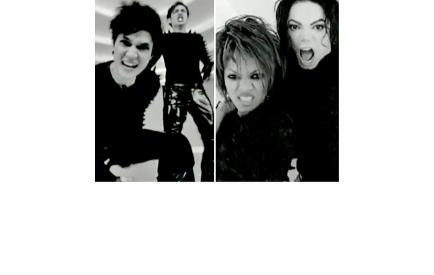 """Glee"" Duo Duplicates Michael & Janet Jackson's ""Scream"" Video!"