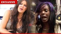 Khloe Kardashian Fires Back at Transgender -- It Was Self-Defense!!!