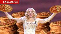 Madonna Drops Cheesy Gift on Super Bowl Staff -- You Wanna Pizza Me?!?!