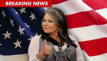 Roseanne Barr Files Official Docs to Become President