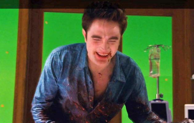 Breaking Dawn: Watch Bloody Birth Scene Bloopers!