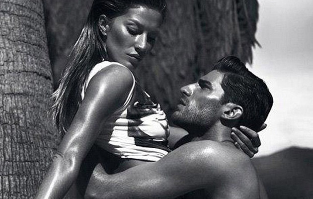 Gisele Bundchen Sizzles In Sexy Versace Ads