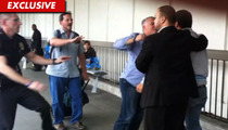 Justin Bieber's Bodyguard -- Unleashes Fist of Fury on Photog [VIDEO]