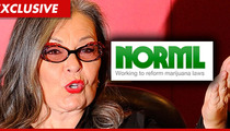Roseanne Barr -- Already a (Bong) Hit with Weed Advocacy Group