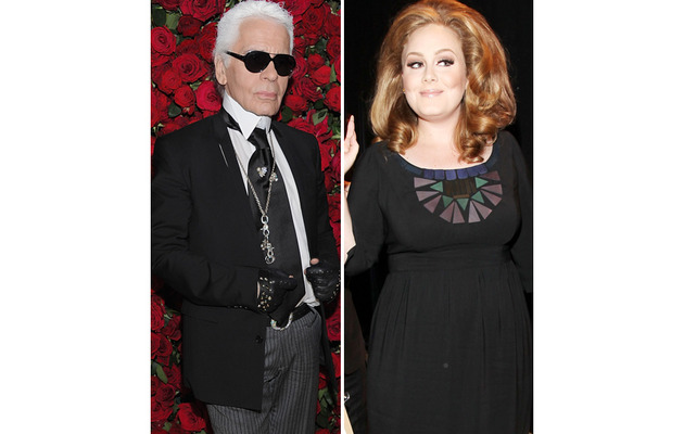 "Organizations Fire Back at Karl Lagerfeld Over Adele ""Fat"" Comment"