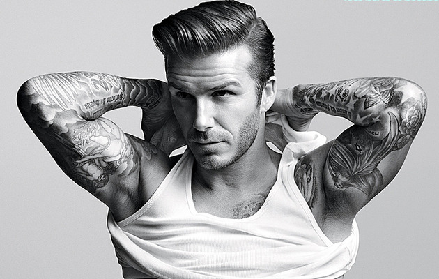 David Beckham Bares His Abs ... And Soul