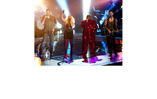 """""""The Voice"""" Coaches Cover Prince -- How'd They Do?"""