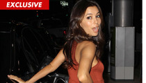 Eva Longoria Involved in Minor Fender Bender