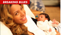 Blue Ivy Carter Photos -- FIRST Close Up of Beyonce and Jay-Z's Baby