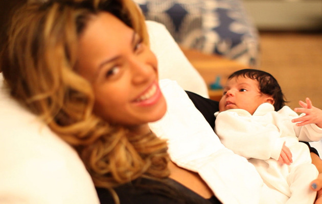 FIRST PHOTOS of Beyonce and Jay-Z's Baby Girl, Blue Ivy Carter!