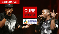Jay Z & Kanye West -- Music Video Warning SAVED LIVES ... Says Epilepsy Org.
