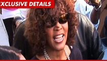 Whitney Houston's Funeral -- At Childhood Church ... By Invite Only