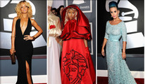 Grammys 2012 -- The Red Carpet Fashions