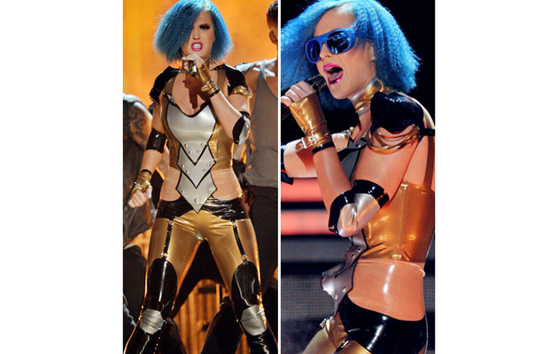 Did Katy Perry Slam Russell Brand During Grammy Performance?