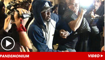 Bobby Brown -- Absolute CHAOS for LAX Arrival
