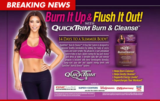 Kim Kardashian Sisters Sued For 5 Mil Your Quicktrim T Pills Are Bogus