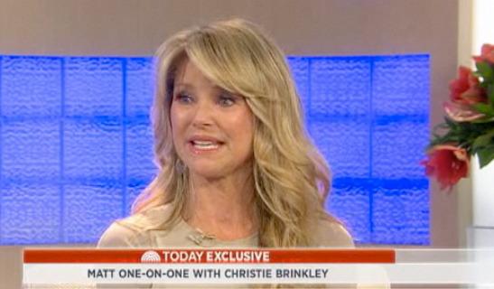 """Christie Brinkley Breaks Down On """"Today"""""""