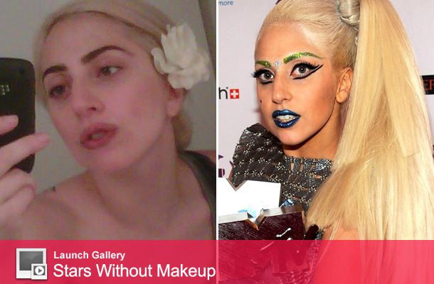 Lady Gaga Tweets Makeup-Free Photo!