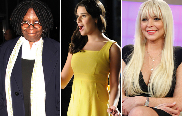 "CONFIRMED: Lindsay Lohan and Whoopi Goldberg to Appear on ""Glee!"""