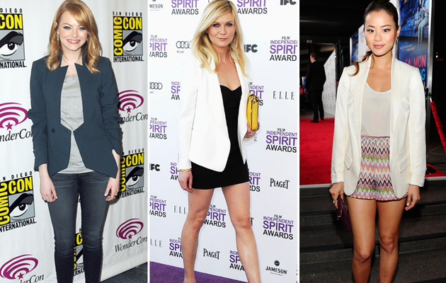 Celebrity Fashion Trend: Spring Blazers