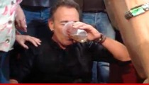 Bruce Springsteen -- Jumps Into Crowd, CHUGS FAN'S BEER