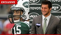Jets Receiver -- Overjoyed to Give Tim Tebow #15 -- The Number's CURSED!!!