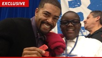 WWE Star David Otunga Drops Wrestlemania Surprise on Haiti Refugee