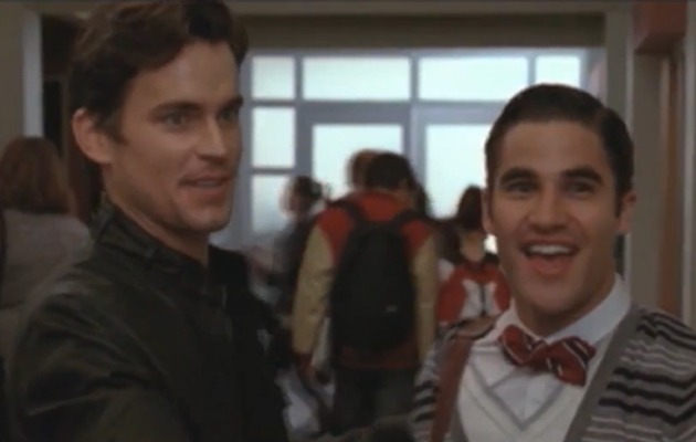 """Glee"" News: Meet Blaine's Brother, and the Cast Chats with James Lipton!"