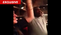 Tracy Morgan -- Serves MEATLOAF at Benihana ... Crowd Goes WILD