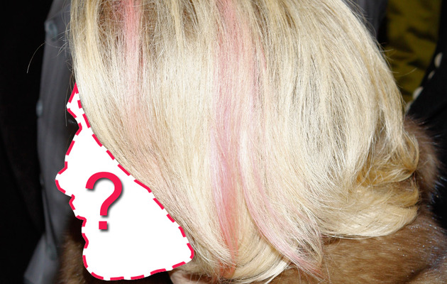 Guess the Star with the Pink Hair Streaks!