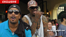 Dennis Rodman Laughs Off Child Support Debt -- My Baby Mama's a Chump!