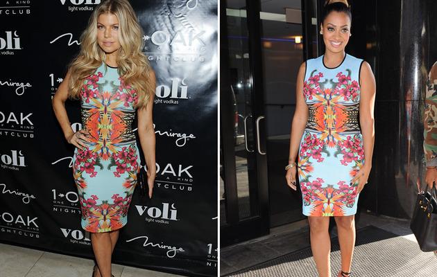Dueling Dresses: Fergie Versus La La