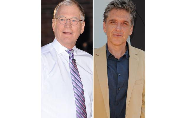 David Letterman and Craig Ferguson: On Air Through 2014