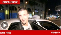 Mark Ballas -- Jaleel White Meltdown Story is Total BS