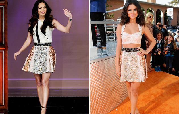 Dueling Dresses: Megan Fox Versus Selena Gomez