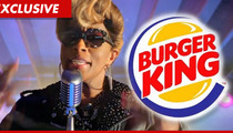 Mary J. Blige -- Burger King Chicken Commercial Was Not What I Expected